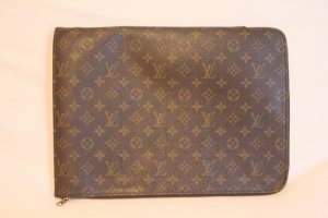 LOUIS VUITTON Pouch Document Bag Case