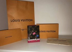 Louis Vuitton Reisepass Hülle Limited Edition Christmas 2018