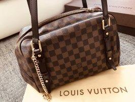 Louis Vuitton Sac Baril brun noir