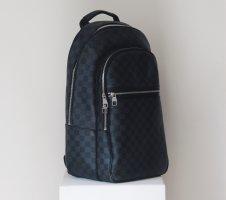 Louis Vuitton Sac à dos pour ordinateur portable noir-gris