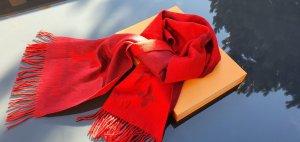 Louis Vuitton Szalik z kaszmiru głęboka czerwień-bordo