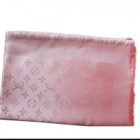 Louis Vuitton Schal Monogram Shine Rosa