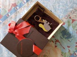 Louis Vuitton Key Chain bronze-colored-brown