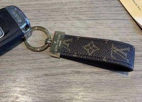 Louis Vuitton Sleutelhanger bruin-goud