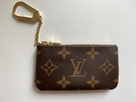 Louis Vuitton Portachiavi marrone chiaro-oro