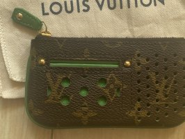 Louis Vuitton Key Case brown-green leather