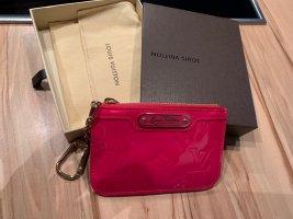 Louis Vuitton Sleutelhanger roze Leer