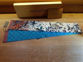 Louis Vuitton Sciarpa di seta turchese