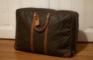 Louis Vuitton Travel Bag brown-black brown