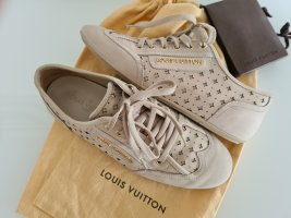 LOUIS VUITTON Sneaker, beige, Leder, Gr.36,5
