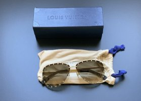 Louis Vuitton Glasses gold-colored