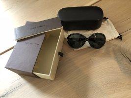 Louis Vuitton Occhiale da sole ovale nero