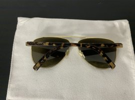Louis Vuitton Occhiale da pilota oro-marrone