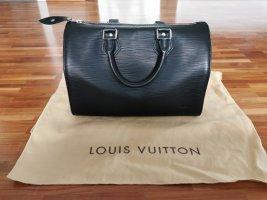 Louis Vuitton Speedy 25 schwarz Epi Leder