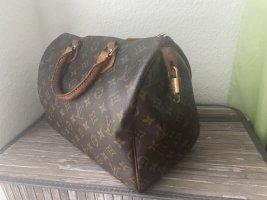 Louis Vuitton Handtas lichtbruin-bruin