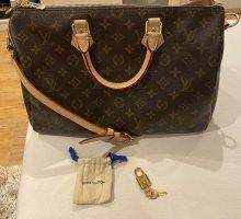 Louis Vuitton Torba na ramię brązowy Skóra