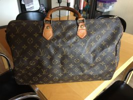 Louis Vuitton Borsetta marrone scuro-marrone Pelle