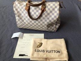 Louis Vuitton Speedy damier Azur 35 mit Rechnung