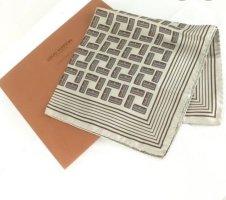 Louis Vuitton Silk Cloth grey brown silk