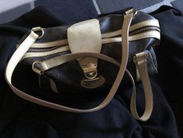 Louis Vuitton Sac Baril brun cuir