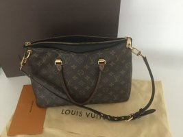 Louis Vuitton Tasche Pallas MM Monogramm Schwarz Noir