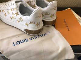 Louis Vuitton High Top Sneaker white-gold-colored