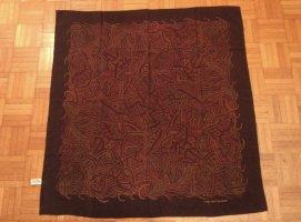 Louis Vuitton Bufanda de seda marrón-marrón oscuro