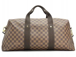 Louis Vuitton Weekender Damier 55 Canvas Reisetasche