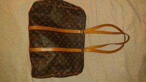 Louis Vuitton Shopper marron clair