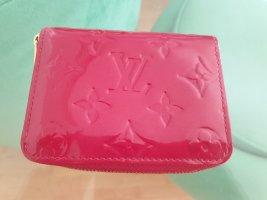 Louis Vuitton Zippy Coin Geldbörse in Vernis Lackleder, Rot