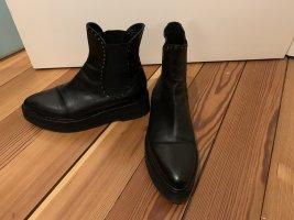 Love + Ech Leder-Ankleboots Größe 39