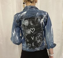 Love - Jeansjacke