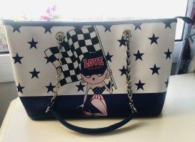Love Moschino American girl style Handtasche mit Sternen Muster