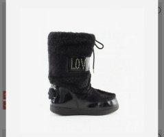 Love Moschino Low boot noir-doré