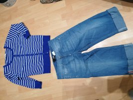 Love Moschino 3/4 Length Jeans azure