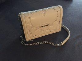 Love Moschino Handtasche Herzchen - weiß