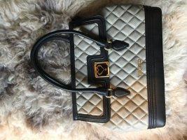 Love Moschino modische Handtasche in schwarz-grau