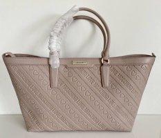 Love Moschino Tasche Shopper Bag rosa Bosra old SAFFIANO PVC Logo