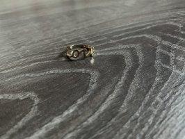 Love Ring Schriftzug Gold neu