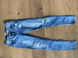 Mango Low Rise Jeans blue