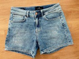 LTB Jean Shorts Blau Caren M 38 40 High Rise