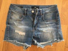LTB JEANS Short en jean bleu