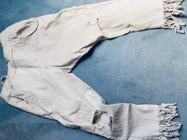 3/4-jeans licht beige
