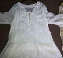 A-Z Blusa a tunica bianco