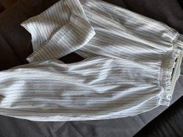 H&M Pantalone a zampa d'elefante bianco-grigio chiaro
