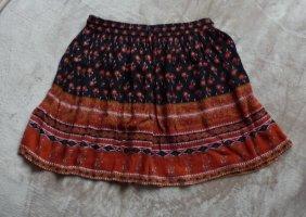 Forever 21 Mini-jupe noir-orange