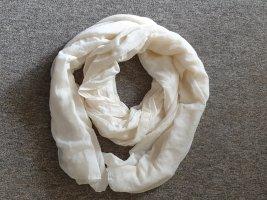 Écharpe d'été blanc cassé