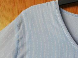 Anna Aura Camicia a tunica blu pallido-azzurro