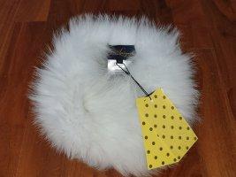 Luisa Spagnoli Fur Hat white