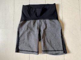 Lululemon athletica Pantalón corto deportivo negro-gris